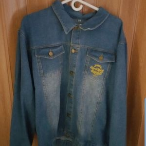 Jackets & Blazers - New hardrock jean jacket